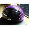 EVO short Track helmet black purple